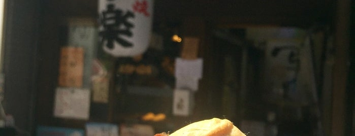 Taiyaki Sharaku is one of Tokyo 2019.
