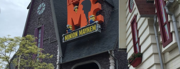 Despicable Me Minion Mayhem is one of Kyoto-Osaka 2019.