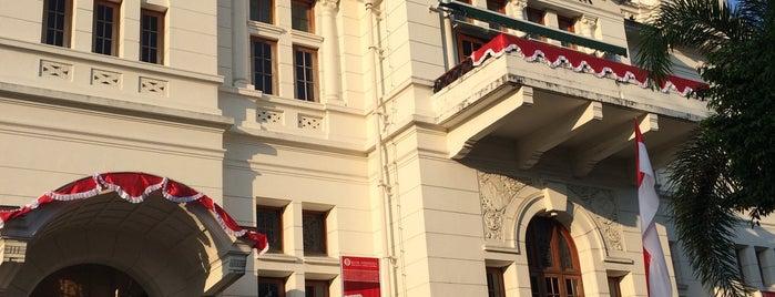 Gedung Heritage Bank Indonesia Yogyakarta is one of Lively Yogyakarta.