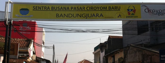 Pasar Ciroyom is one of My Hometown.