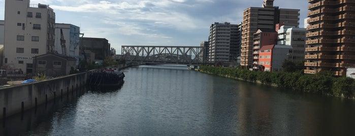 木津川 is one of Kyoto-Osaka 2019.