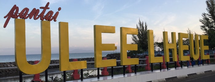 Pantai Ulee Lheue is one of Aceh trips.