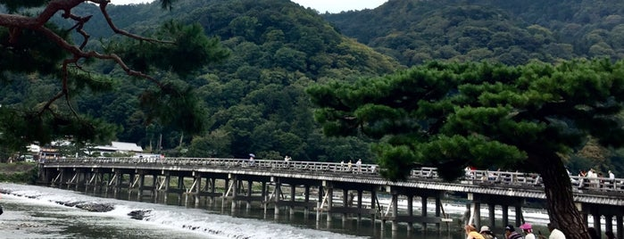 Togetsu-kyo Bridge is one of Kyoto-Osaka 2019.