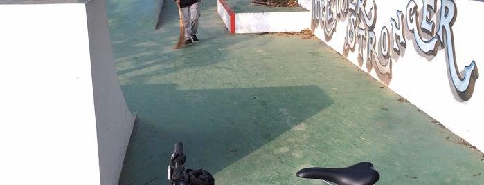Ra Kartini Mini Skate Park is one of Cimohay spots.