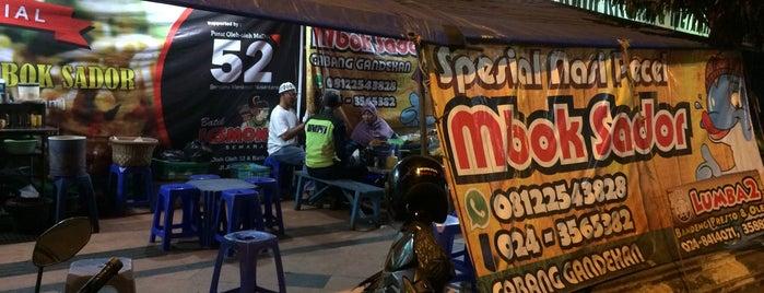 Pecel Mbok Sador gajahmada is one of Semarang Trips.
