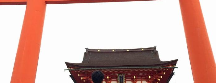 Romon Gate is one of Kyoto-Osaka 2019.