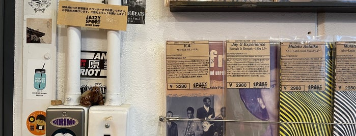 Jazzy Sport Music Shop Tokyo is one of Record Stores Worldwide.
