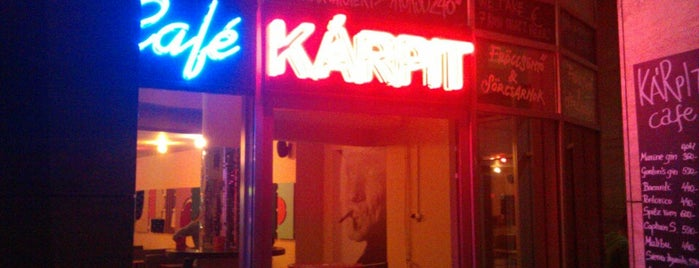 Kárpit Cafe is one of Orte, die Stefan gefallen.