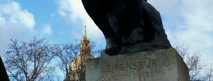 Le Penseur is one of Ebi : понравившиеся места.