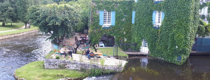 Le Moulin De L Abbaye Hotel Brantome is one of Bordeaux Michelin.