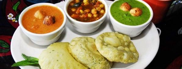 Annapurna's World Vegetarian Café is one of Santa Fe.