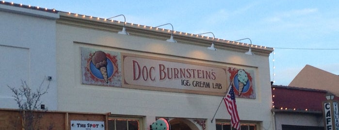 Doc Burnstein's Ice Cream Lab is one of Fa-SLO-LA-te-da.