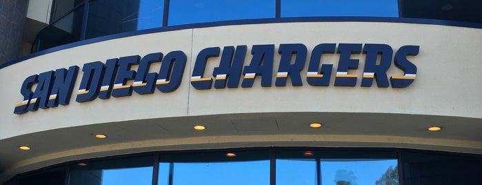 Chargers Park - San Diego Chargers is one of Locais curtidos por Deborrah.