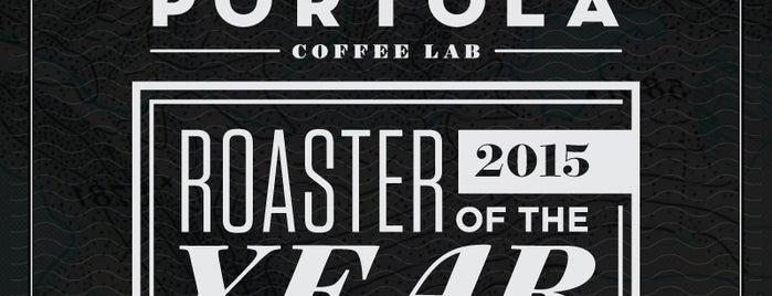 Portola Coffee Roasters is one of IE/OC.