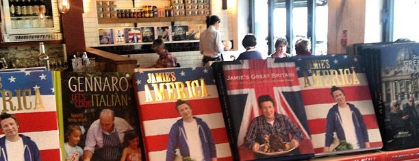 Jamie's Italian is one of Londres restaurantes BBB.