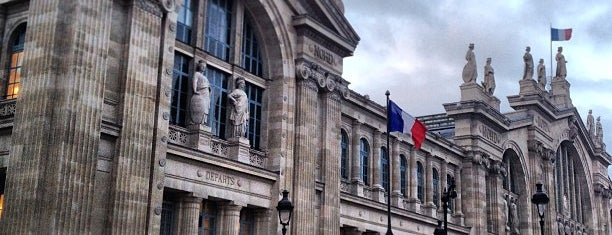 Gare SNCF de Paris Nord is one of Orte, die Edwulf gefallen.