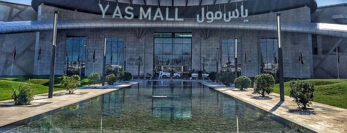 Yas Mall is one of Tempat yang Disukai Deniz.