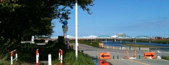 鵯島起点部 is one of とやまのサイクリングロード.