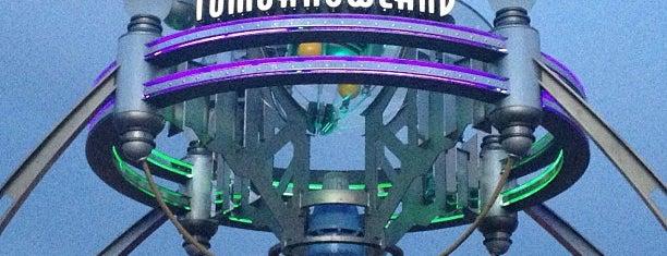 Tomorrowland is one of Walt Disney World.