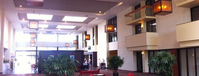 Ontario Airport Hotel & Conference Center is one of Orte, die Taokinesis gefallen.
