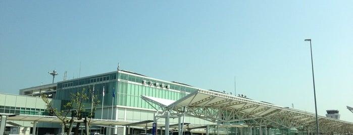 Kitakyushu Airport (KKJ) is one of 空港 ラウンジ.