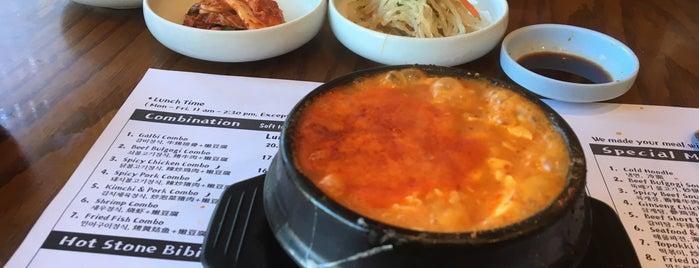 Myoung Dong Tofu Restaurant is one of Locais salvos de Christine.