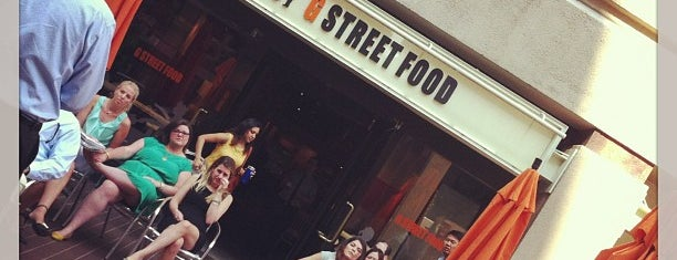 G Street Food is one of Lunch spots.