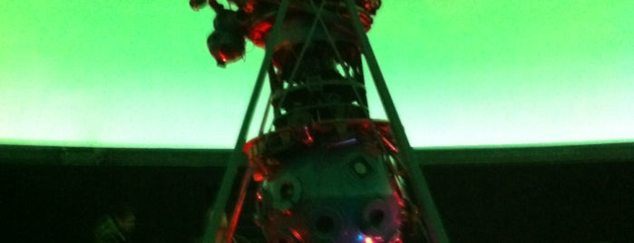 Planetario Universidad de Santiago de Chile is one of Ivanさんの保存済みスポット.