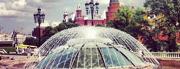 Manezhnaya Square is one of Must to do in Moscou.