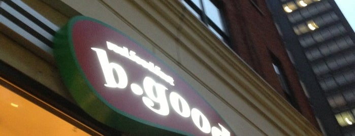 B.GOOD is one of Good paleo spots around Boston.
