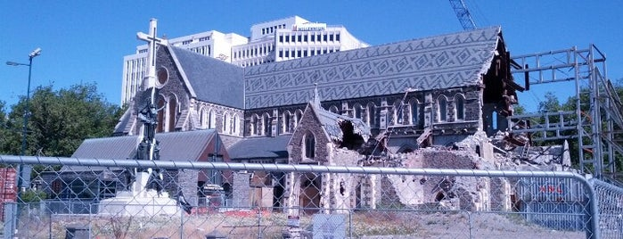 Christchurch Cathedral Ruins is one of Nova Zelândia 🇳🇿.