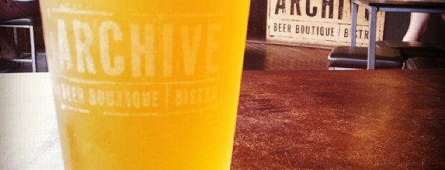 Archive Beer Boutique is one of Craft beer, Brisbane.