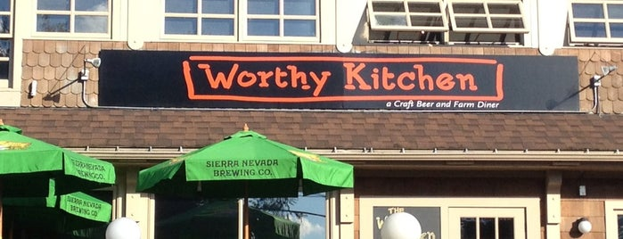 Worthy Kitchen is one of Posti che sono piaciuti a Steve.