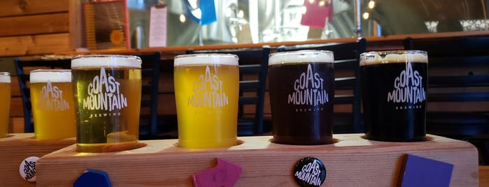 Coast Mountain Brewing is one of Whistler.