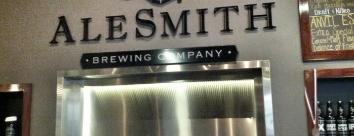 AleSmith Brewing Company is one of Beer.