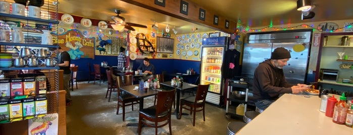 The Blue Moose Cafe is one of Port Townsend.