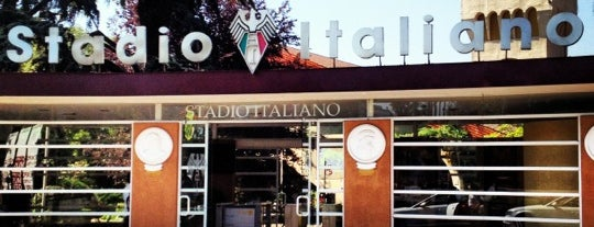 Stadio Italiano is one of Tempat yang Disukai Ely.