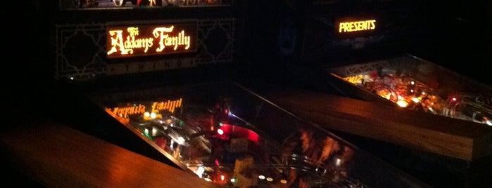 B Side Liquor Lounge & Arcade is one of Pinball Destinations.