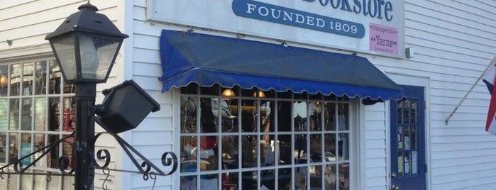 Andover Bookstore is one of Lugares guardados de Aaron.