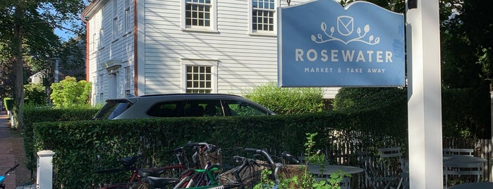 Rosewater is one of Martha's vineyard.