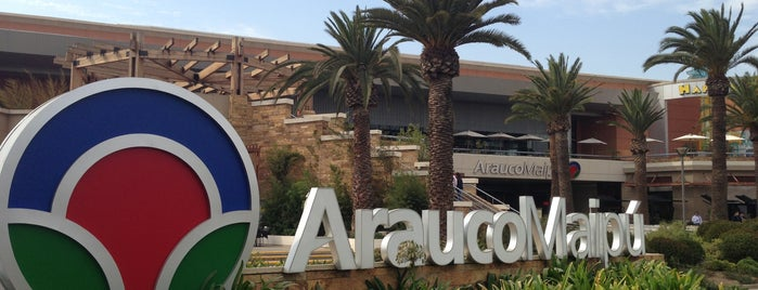 Mall Arauco Maipú is one of Chile.