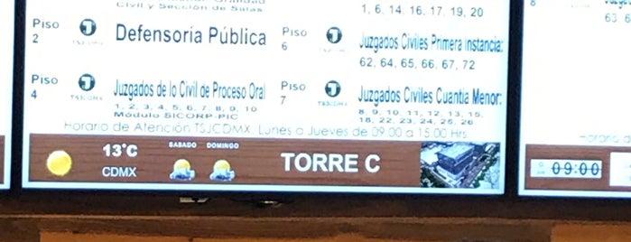 """Juzgados Civiles De Cuantia Menor Temporales Tsjcdmx """"Torre La Viga"""" is one of Andrea'nın Beğendiği Mekanlar."""