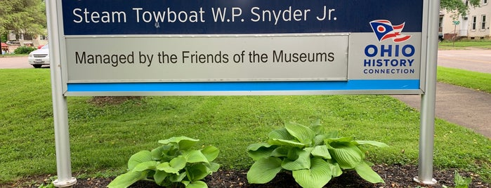 Ohio River Museum is one of SE Ohio and Parkersburg WV.