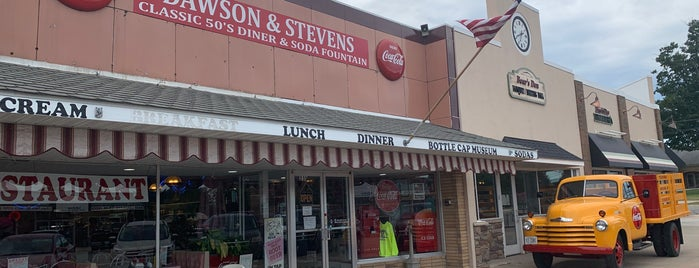 Dawson and Stevens Classic 50's Diner is one of MI.