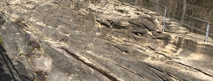 Glacial Grooves Geological Preserve is one of สถานที่ที่บันทึกไว้ของ Noel.