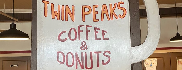 Twin Peaks Coffee & Donuts is one of CATSKILLS, NY 🏔.