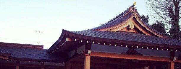 阿佐ヶ谷神明宮 is one of 神輿で訪れた場所-1.