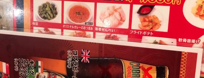 カレー名人 新富町店 is one of TOKYO-TOYO-CURRY 4.