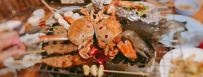 นั่งปิ้งซีฟู้ด Seafood & Beer Buffet is one of 🍹Tückÿ♛Vïvä🍹 : понравившиеся места.