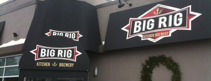 Big Rig Kitchen Brewery is one of Lugares favoritos de LJ.